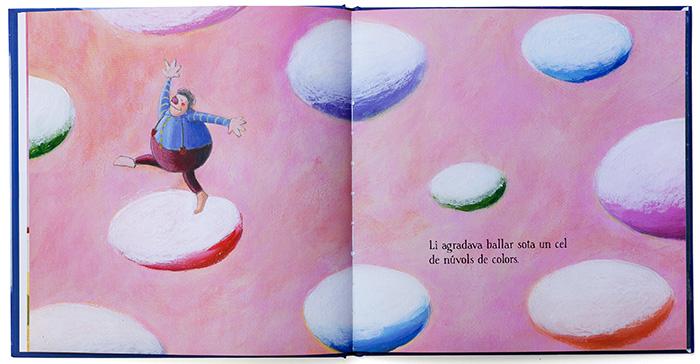 """2011 - Página interior del libro """"El gigante y la luna"""""""