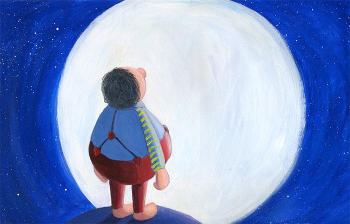 2011 - La luna estaba allí. Iluminando al gigante. Como siempre